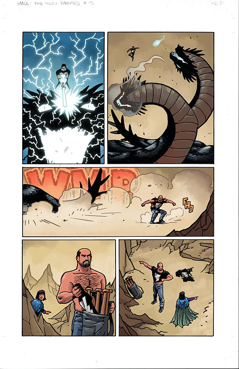 MAGE: Book 3: The Hero Denied Interior Issue #13 Page #21