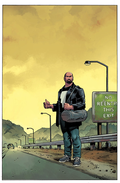 MAGE: The Hero Denied #3 Cover Print