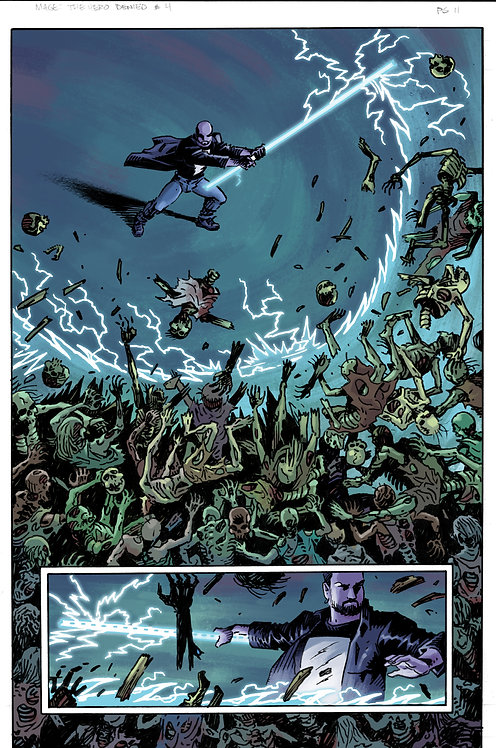 MAGE: Book 3: The Hero Denied Interior Issue #4 Page #11