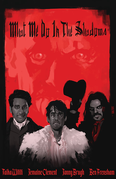 What We Do In The Shadows Print