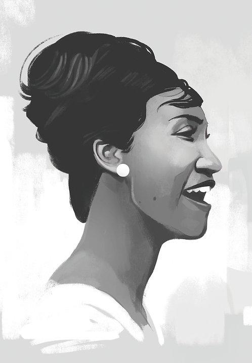 Queen of Soul Print