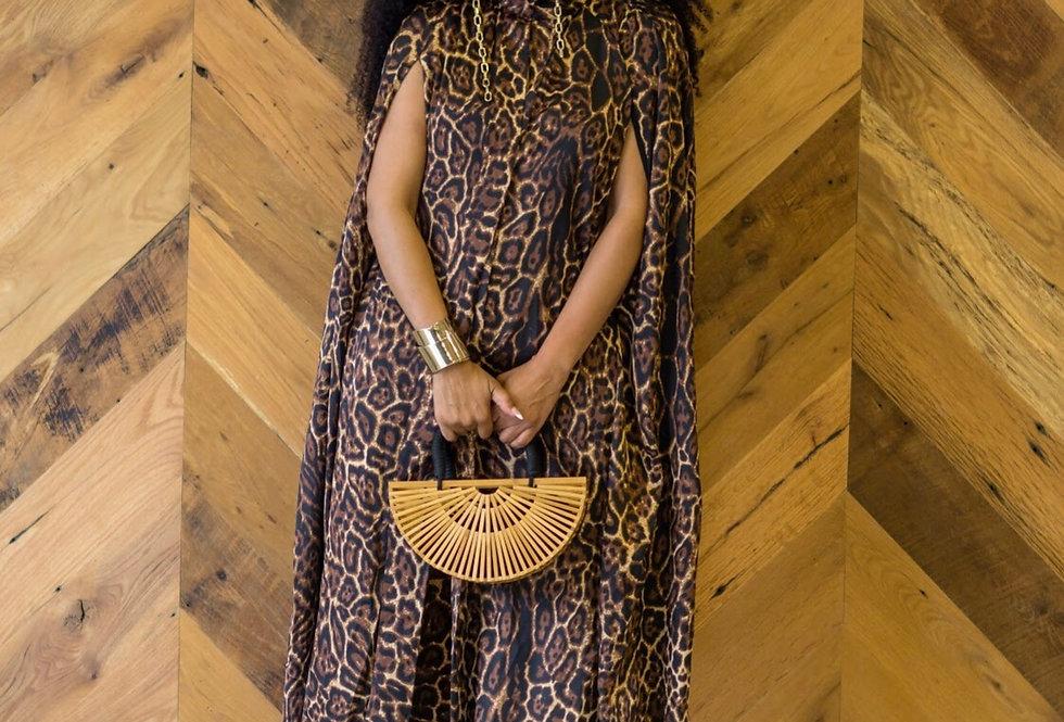 Lux Leopard Cape