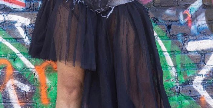 Black  Butterfly Skortz