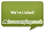 The Limes Campsite for Caravans and Camping in Lincolnshire proudly supports Love Camping