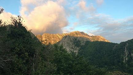 Ochtend in de bergen