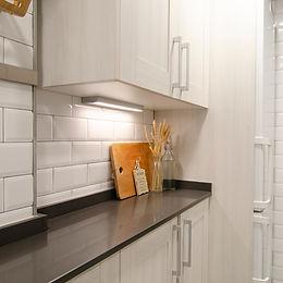 Reforma de una cocina pequeñaen Hospitalet, diseño clásico