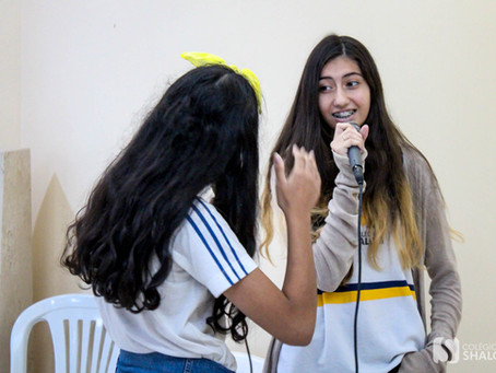 """""""The Voice"""" é realizado no Colégio Shalom"""