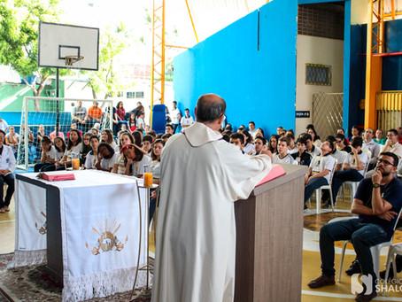 Santa Missa motivacional para Quaresma é celebrada | Colégio Shalom