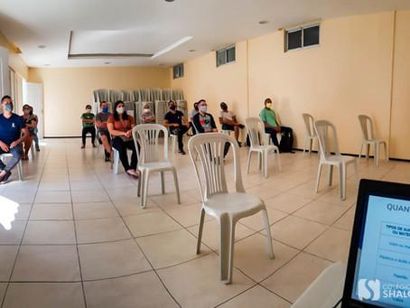 Treinamento de funcionários para o retorno das atividades presenciais