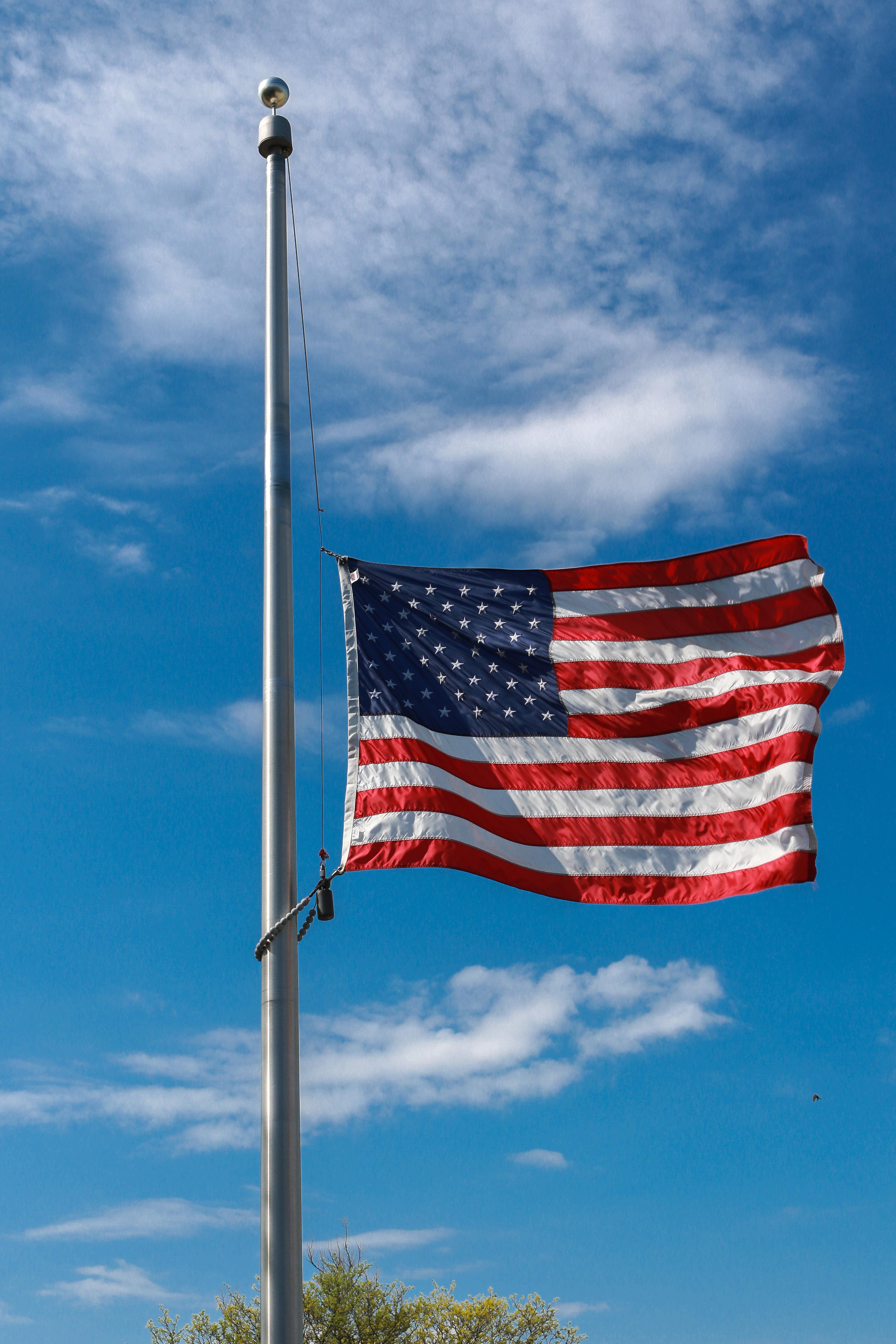 Flag half staff 5-13-2020