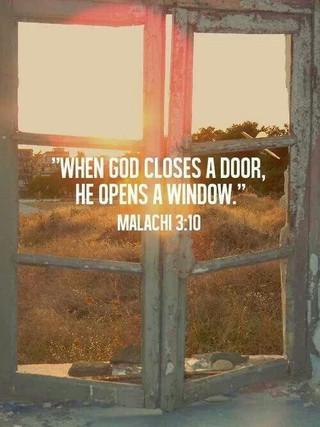 Closed Doors, Open Windows