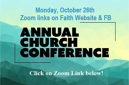 Annual Church Conference zoom link below