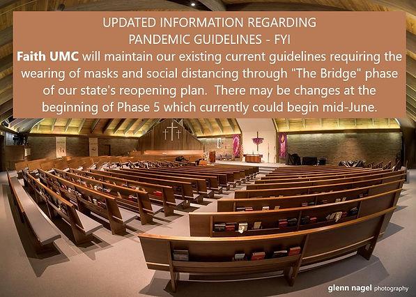 Updated information regarding pandemic g