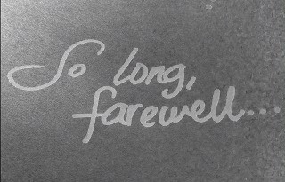 So Long Farewell