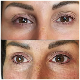Enhance your lashes with lash line tatto