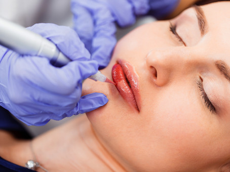 How permanent makeup is done?