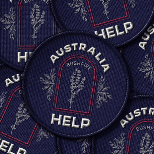 Branding  Australia Bushfire Relief