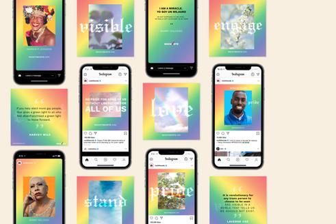 Branding  Pride Month 2020: Rock the Vote