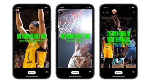 Nike + WNBA   2021 WNBA Tip-Off Campaign  with Wieden + Kennedy