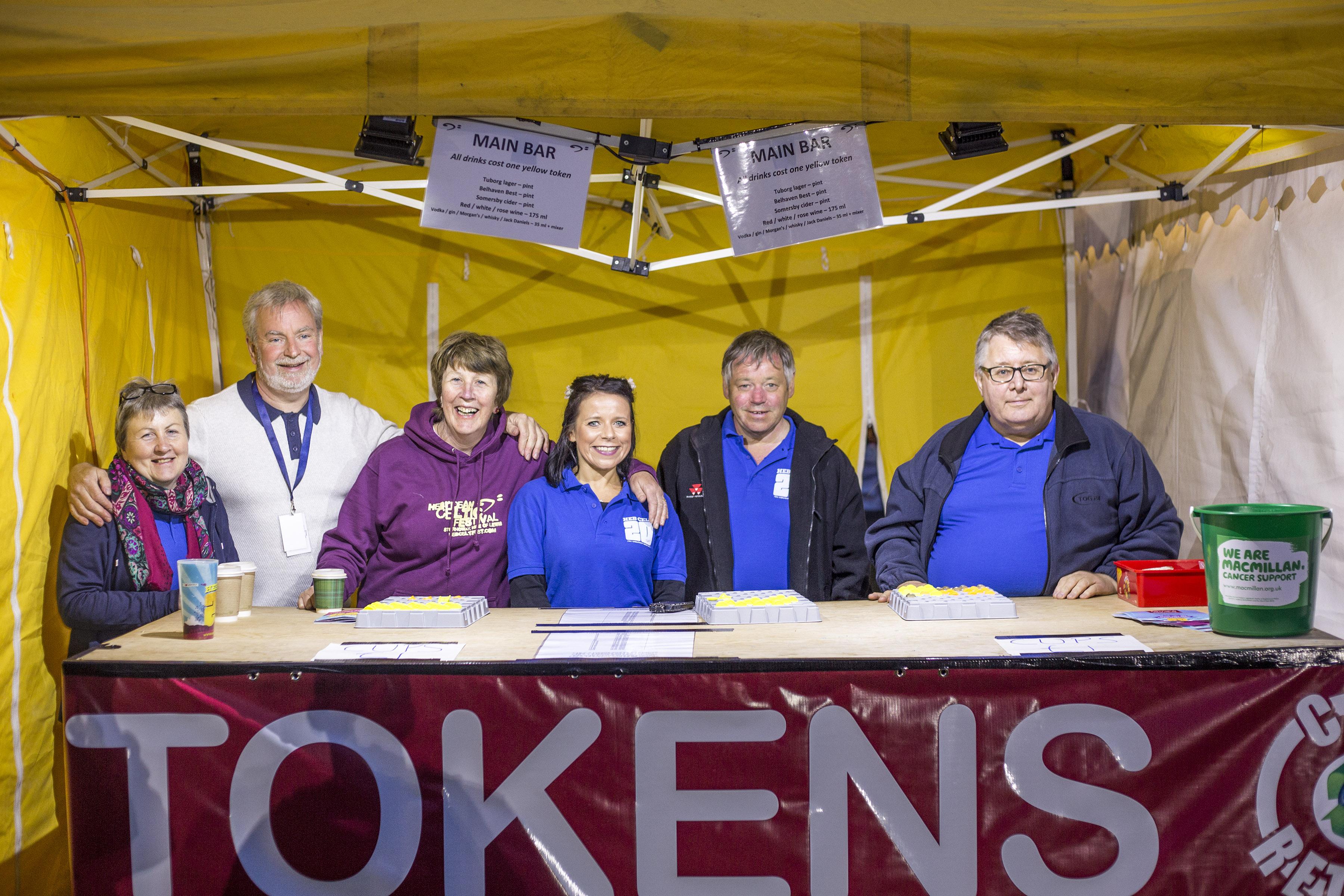 The token tent crew