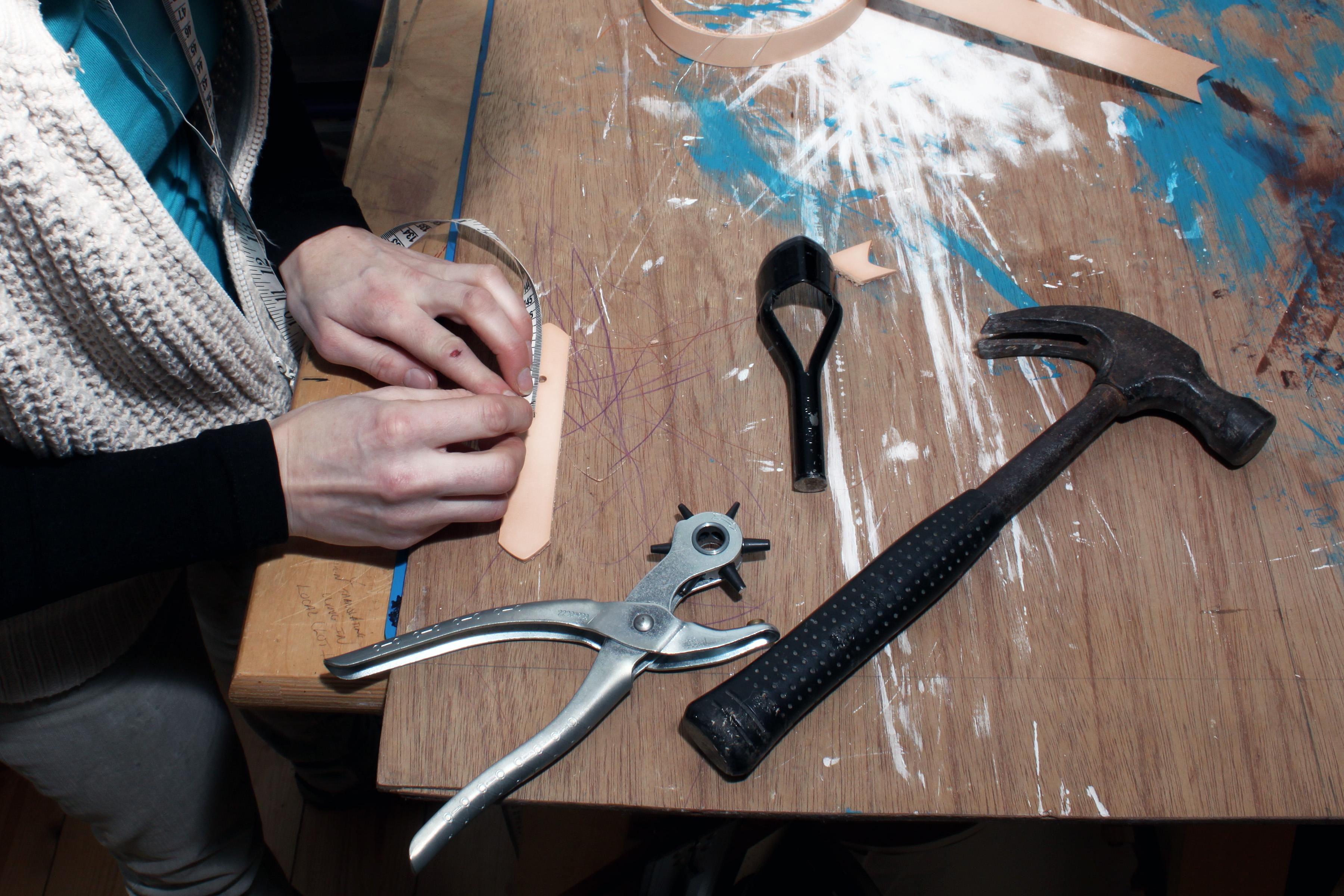 Strap making 2