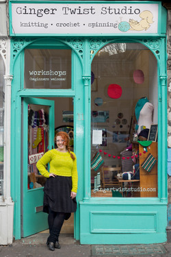 Ginger Twist Studio, Shop Front