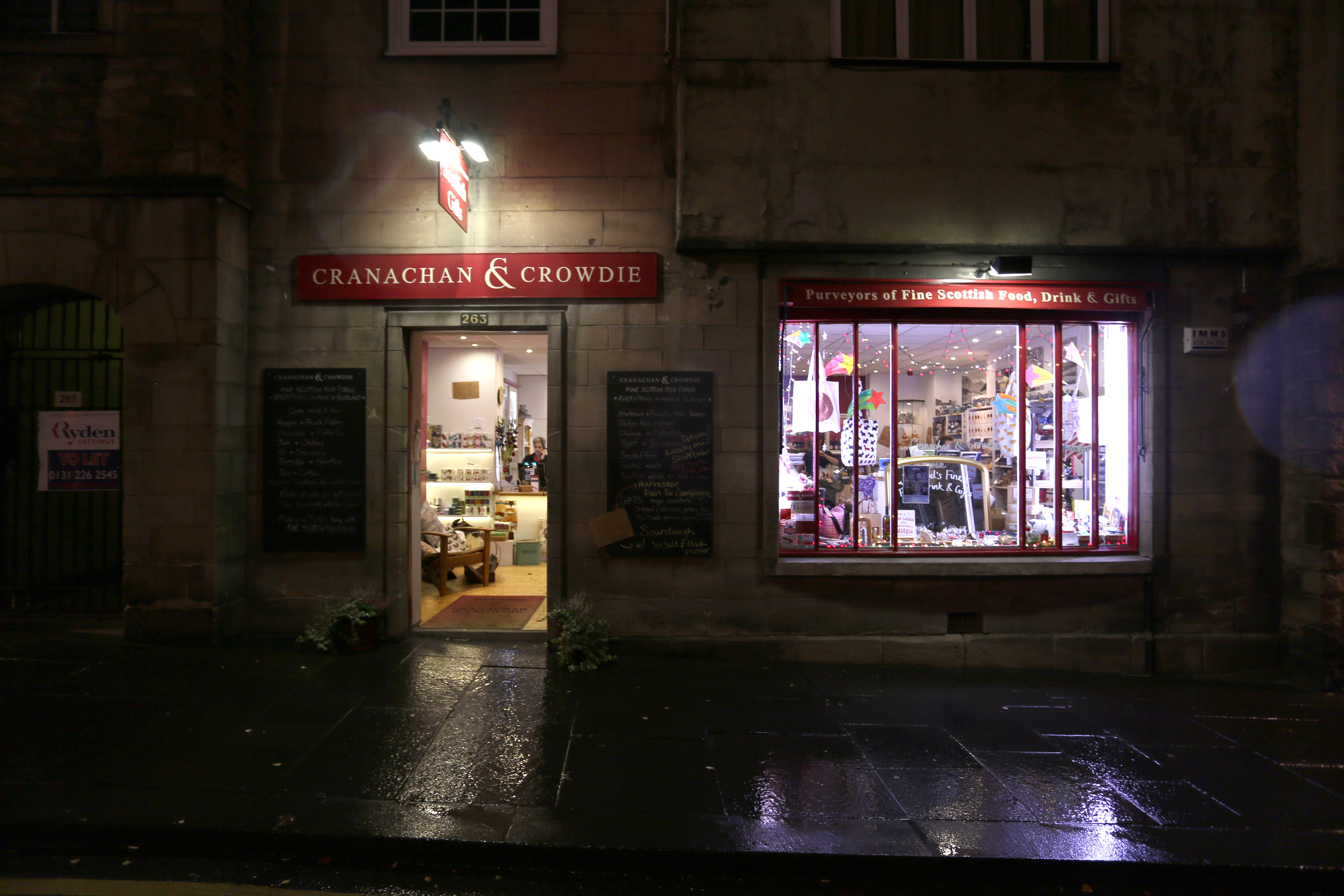Closing shop