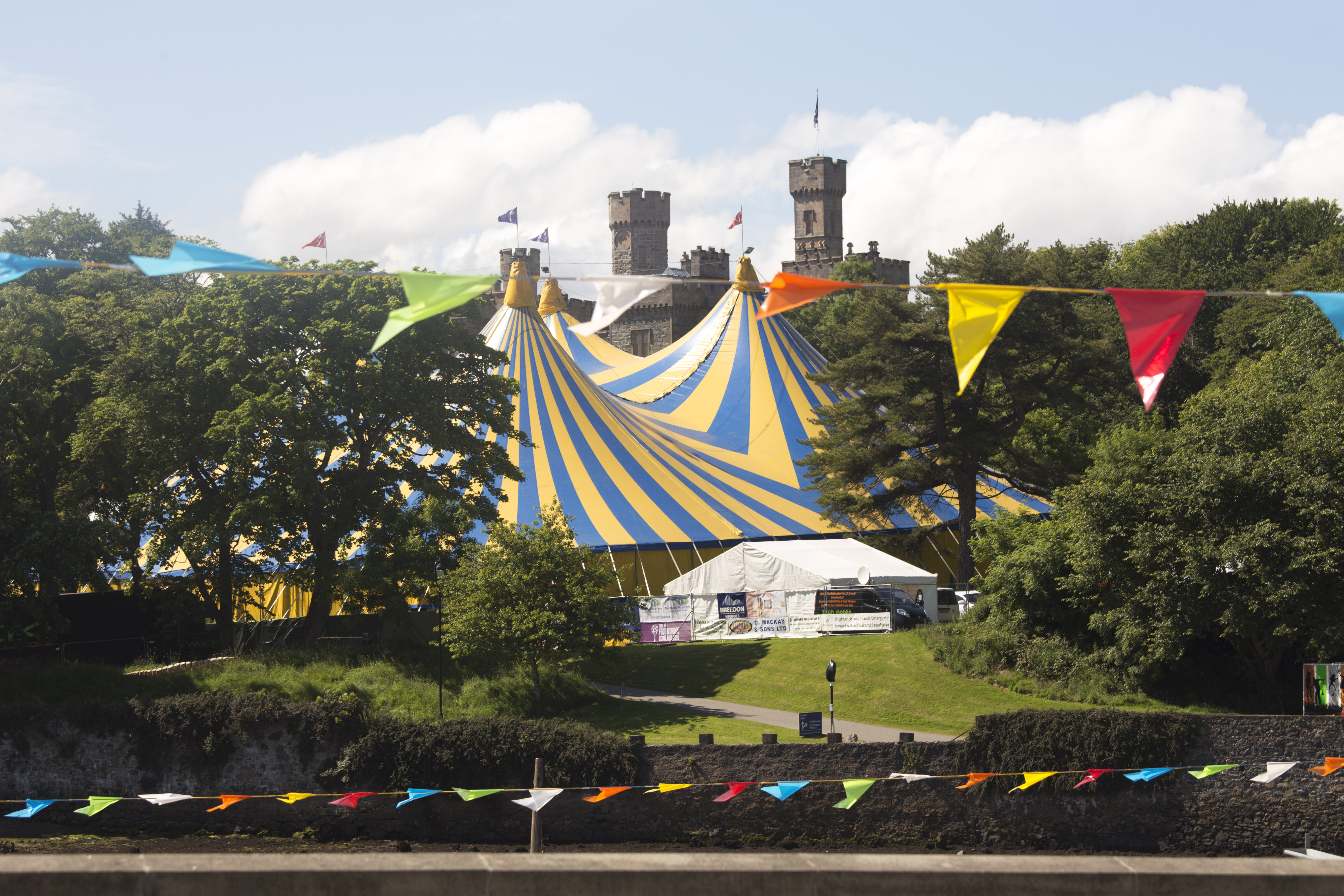 Big tent, buntin and Castle.jpg