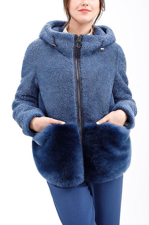 Куртка из овчины керли