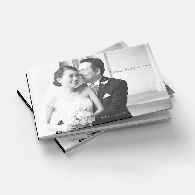 Wedding brochure cover design