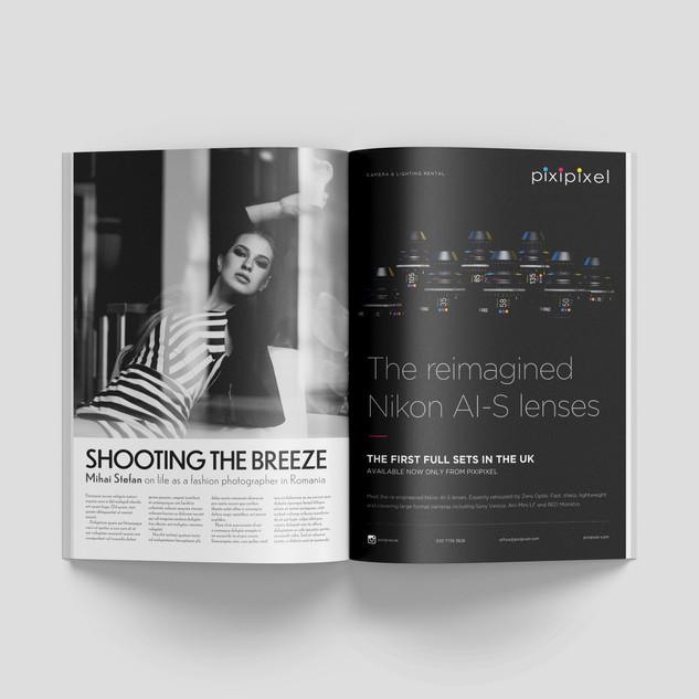 Ad design for British Cinematographer Magazine