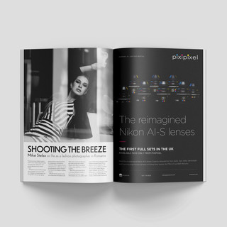 Ad design for British Cinematographer Magazine