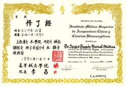 DIPLOMA CLINICO MEDICINA CHINA