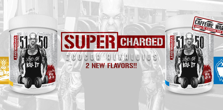 5 percent nutrition super charged pre workout