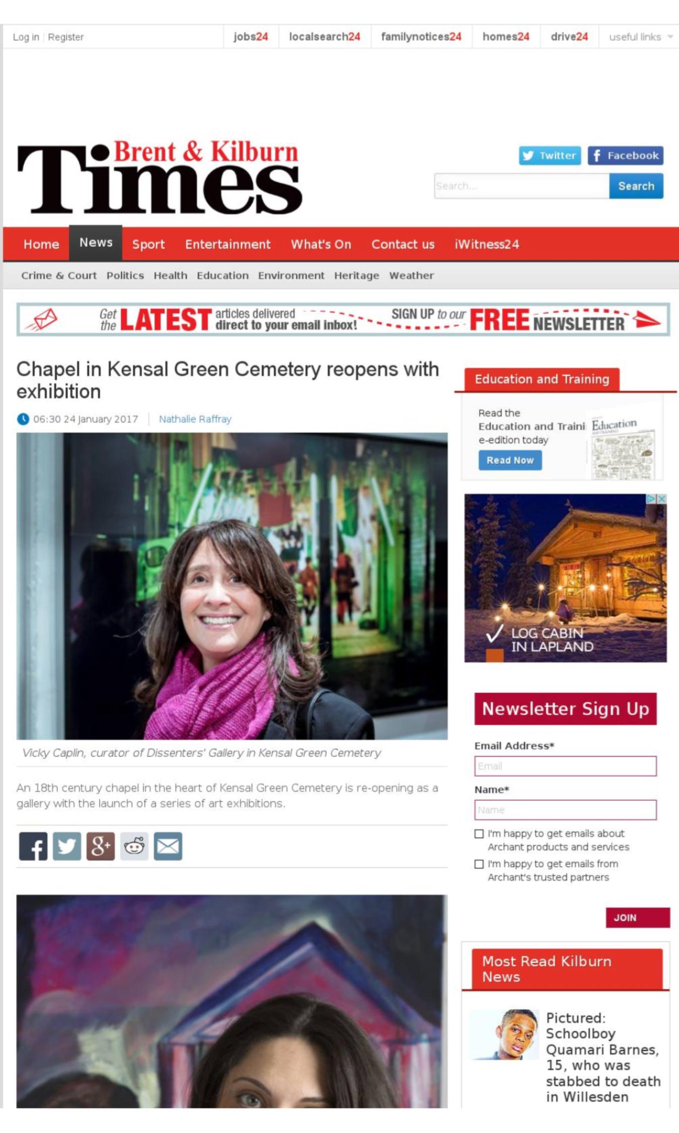 Brent and Kilburn Times Press