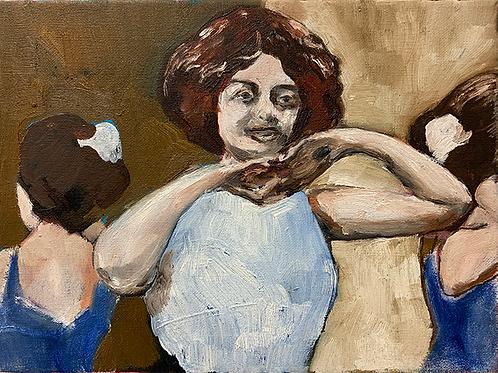 Carousel Lady