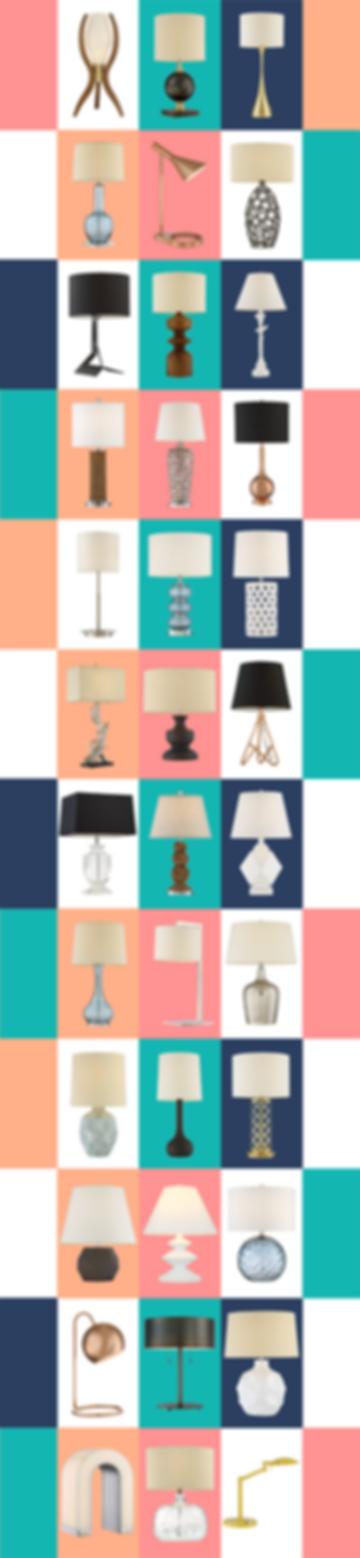 Custom Table Lamps