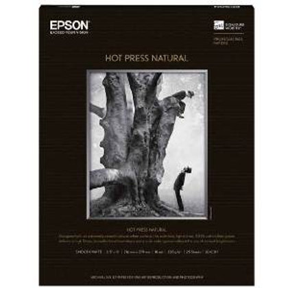 "Hot Press Natural 13""x19"" Box of 25 Sheets"