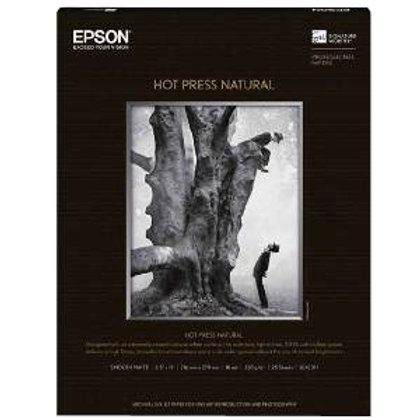 "Hot Press Natural 60""x50' Roll"