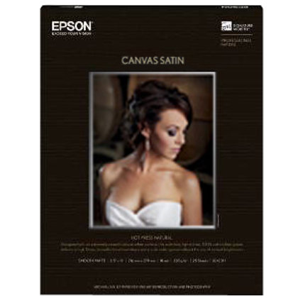 "Exhibition Canvas Satin 17"" x40' Roll"
