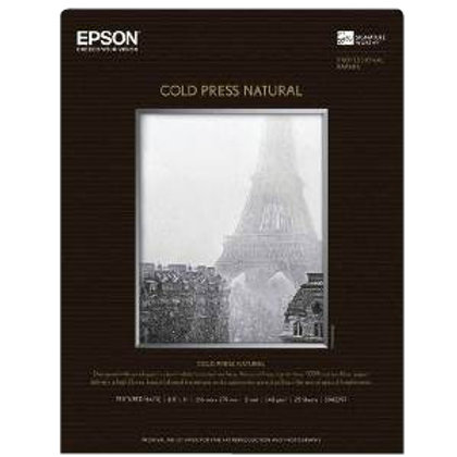 "Cold Press Natural 17""x22"" Box of 25 Sheets"