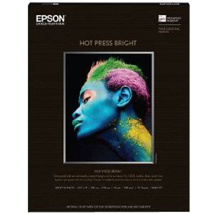 "Hot Press Bright 17""x50' Roll"