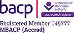 BACP registered member no 045777
