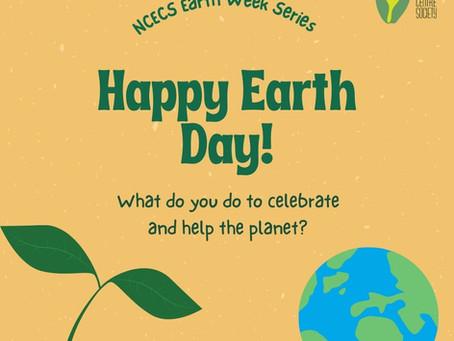 NCECS Earth Week Series & Challenge