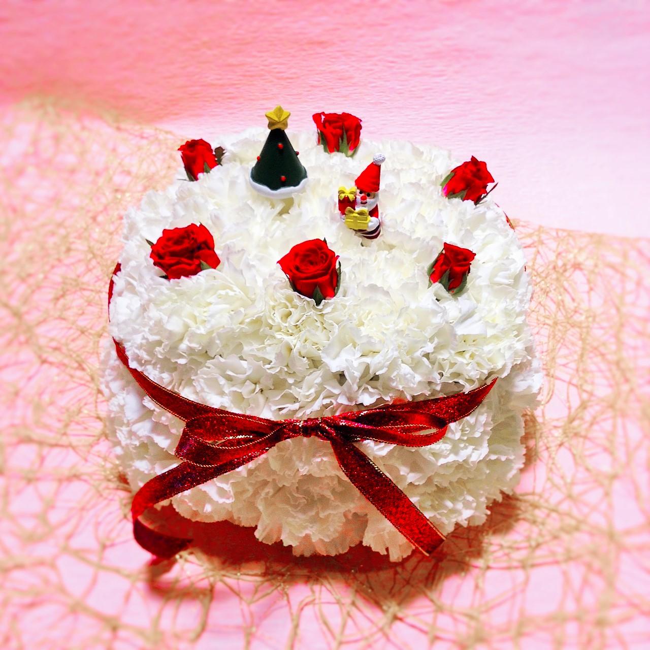 ケーキアレンジメント ツボイフローリスト