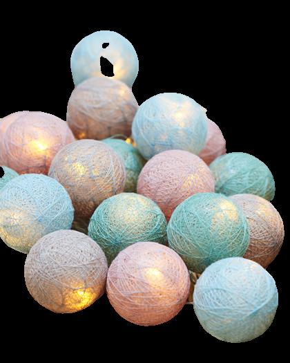 Verlichting Bolette Pastel