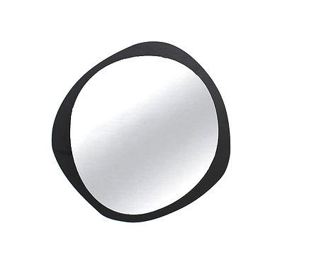 Spiegel Round Iron Matt Black