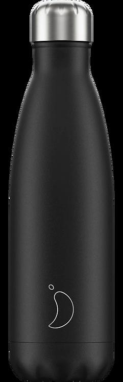 Drinkfles Black Monochrome