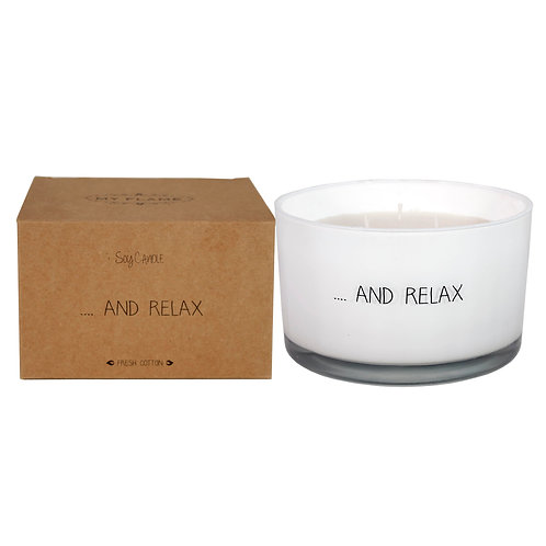 Candle And Relax