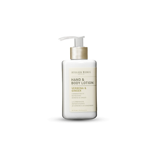 Hand en bodylotion Verbena & Ginger